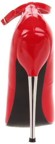Red Pleaser 12 Patent Women's Dagger Red R Pump rOqwzPnOc