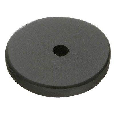 Backplate Finish: Flat Black - Bronze Round Backplate