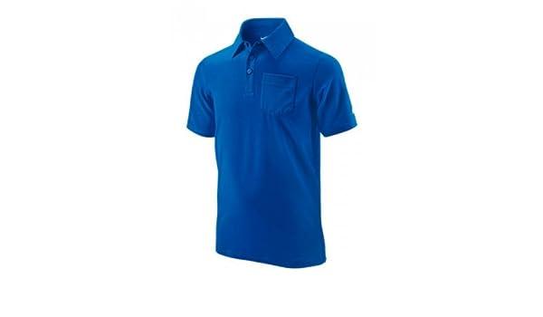 Nike - Camiseta de pádel para niño, tamaño S, Color Azul: Amazon ...