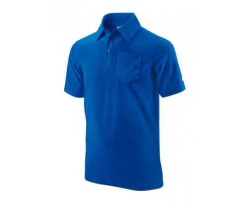 Nike - Camiseta de pádel para niño, tamaño S, Color Azul ...