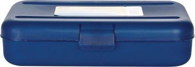 Staples Pencil Box, Translucent Blue