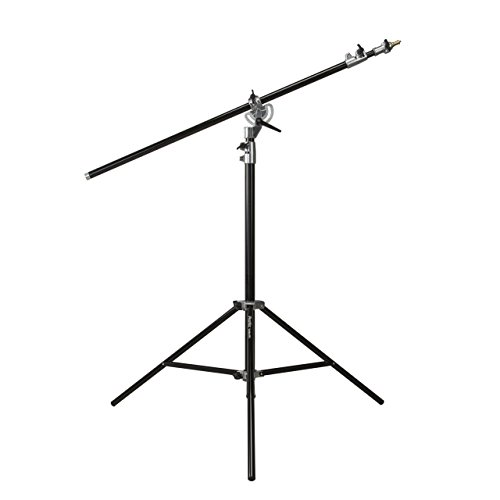 Phottix Salado Studio Boom Light Stand 395cm/156, Black (PH88221)