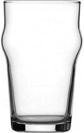 We Can Source It Ltd - 4X Endurecido Nonic Pinta Gafas 20oz (57cl) Marcado Ce Pub, BAR, Cerveza