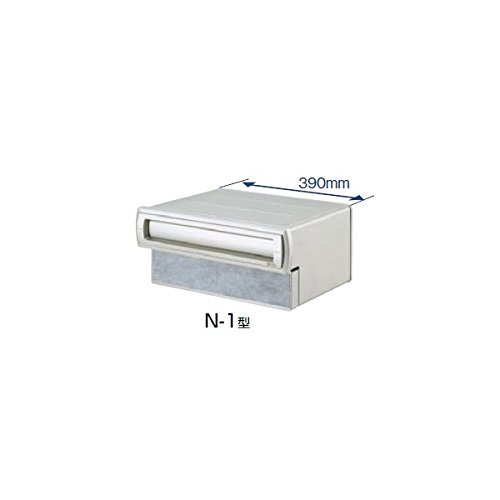 TOEX LIXIL エクスポスト 口金タイプ N-1型(2B-15ボックスタイプ) 【リクシル】  シャイングレー B00GQVPDWC 21360 本体カラー:シャイングレー 本体カラー:シャイングレー