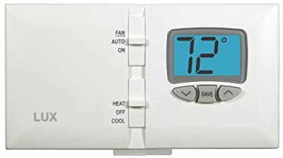 Lux Products DMH110 Non-Programmable Digital Thermostat by Lux
