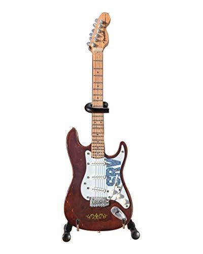 (Stevie Ray Vaughan Mini Miniature Guitar SRV Lenny Gift Axe Heaven)