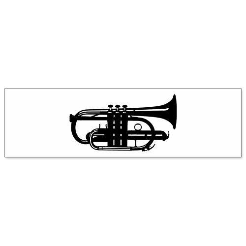 Car Bumper Sticker - Drum Cornet Musicians