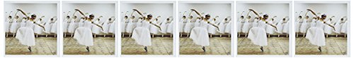 3dRose Happy ballet dancer romantic dress wearing converse sneakers,the joy of being different - Greeting Cards, 6 x 6 inches, set of 6 (gc_10015_1) -
