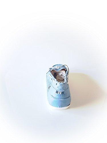 GAASTRA Damen Sneaker aus Kunstleder in Blau Größe 37