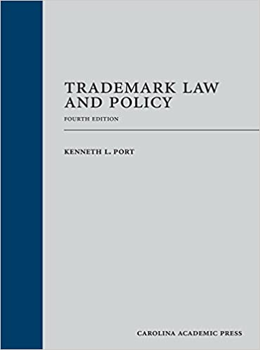 trademark law and policy fourth edition