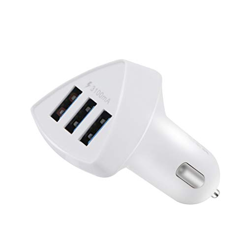 Triple 3-Port USB 3.0 Car Charger 5 V/3.1A Fast Adapter for Samsung Tablet PC