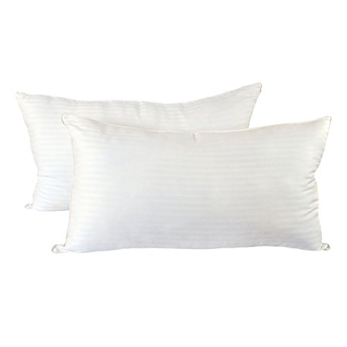 Cozy Bed Medium Firm (Set of 2) Hotel Quality Pillow, King, White, 2 Piece (Bed Sets For Pillow)
