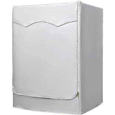 AKEfit Funda de Lavadora Cubierta Impermeable para Lavadora/Secadora de Carga Frontal para Lavadora o Secadora Anchura60 * Altura85 * Profundidad53cm