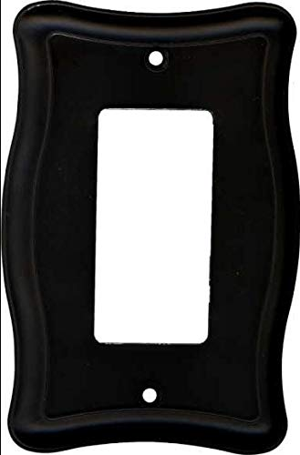 Single GFCI Outlet Or Rocker Wall Plate Oil Rubbed Bronze