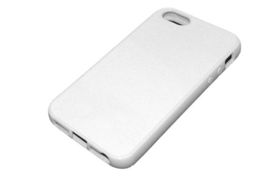 Coque de protection en silicone gel semi-rigide brillante pour Apple Iphone 5