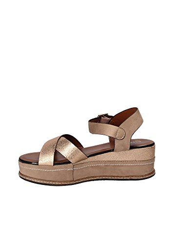 Sandalo A18 amp; Zeppa Gold Rosa Donna Jb843 zPZtyxqw