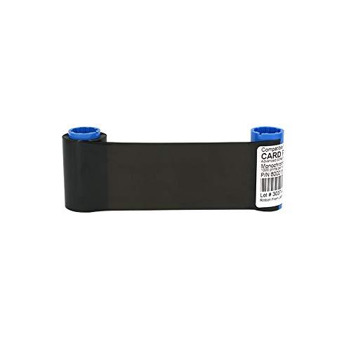 Printer Parts Yoton Printer 1000prints Black Ribbon for Zebra P300F P300C P310F P310C P310I P320I P330I Printer Compatible Card Printer Ribbon