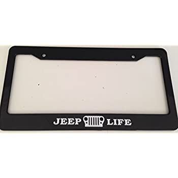 Amazon Com Jeep Life With Grill Automotive Black