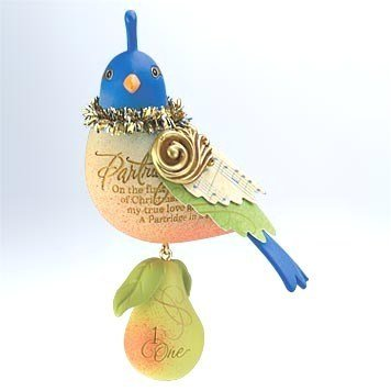 12 Day Christmas Tree Ornaments - Hallmark 2011 Partridge in a Pear Tree Ornament