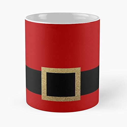 Santa Christmas Santas Suit - 11 Oz Coffee Mugs Unique Ceramic Novelty Cup, The Best Gift For Christmas.