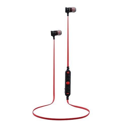 Awei A920BL Wireless Bluetooth 4.0 Sport Stereo Earphone (Red) - 2