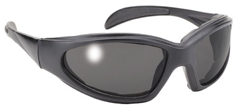 PACIFIC COAST CHOPPER SUNGLASSES - BLACK FRAME / SMOKE LENS, Manufacturer: PACIFIC COAST, Manufacturer Part Number: 4360-AD, Stock Photo - Actual parts may vary.