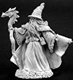 Lorus Hightower Wizard Miniature P-65 Heavy Metal by Reaper Minatures