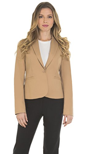 Taupe Suit Jacket - 1