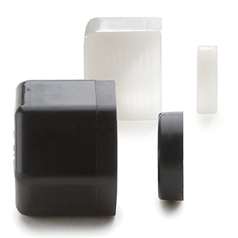 Pack of 1 Parker Hannifin P4NS 1//4 Black Polypropylene Nut and Spacer Set