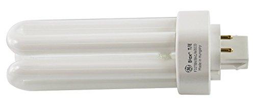GE 97632 (25-Pack) F32TBX/841/A/ECO 32-Watt Energy Smart Ecolux Triple Tube Compact Fluorescent Light Bulb, 4100K, 2400 Lumens, 82 CRI, T4 Shape, 4-Pin GX23q-3 Base by GE (Image #3)