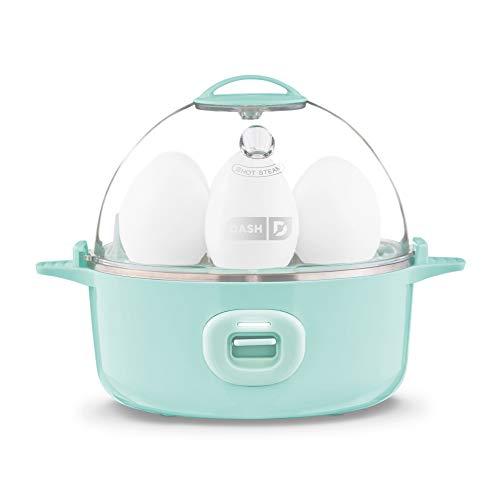DASH Express Electric Egg Cooker, 7, Aqua
