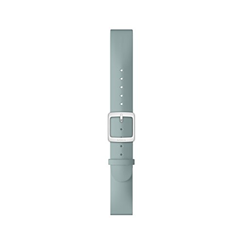 Nokia – Silicone Wristband, Mineral blue, 36mm