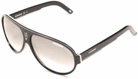 3fd24cdaefd2 Carrera Sunglasses Carrera 25 WZFIC Acetate Black - White Gradient grey  black