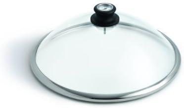 LotusGrill Cubierta de cristal de Cristal de seguridad - Especialmente desarrollado para humo bajo Parrilla de carbón/Parrilla de mesa - Nuevo
