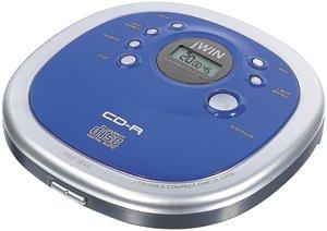 jWIN JX-CD313 - CD player - blue