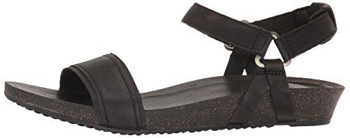 Summer Womens Ysidro Stitch Black Sandals ladies Teva Leather Comfortable wPqYnx4ZZa
