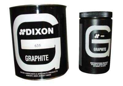 Lubricating Natural Graphite Cap. Wt.: 1lb, Price for 1 Can (part# L6351)