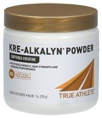 True Athlete Kre Alkalyn Helps Build Muscle, Gain Strength Increase Performance, Buffered Creatine NSF Certified for Sport (7.05 Ounces Powder)