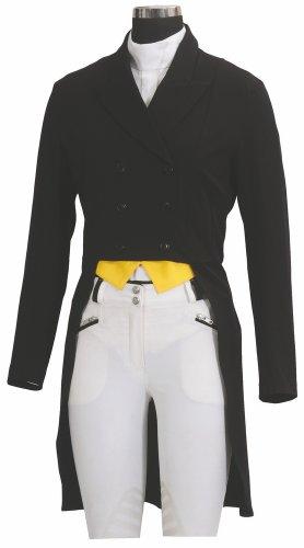 TuffRider SHADBELLY Show Coat Ladies, Black, L -