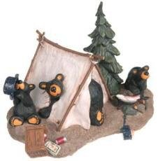 Camp Runamuck, Bearfoots 10th Anniversary Edition Figurine (10th Anniversary Figurine)