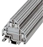 PHOENIX CONTACT 1414129 TERMINAL BLOCK, 4 CONTACT, 26-16AWG (50 pieces)