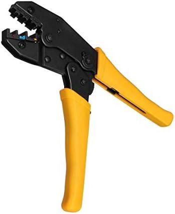 YKJ-YKJ プライヤーハンドツール、4 1内の電気端子プライヤーツールキットラチェットクリンパーケーブルワイヤ圧着プライヤー ペンチ