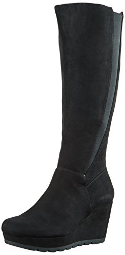 s.Oliver 25527 - Botas altas para mujer Negro (BLACK 1)