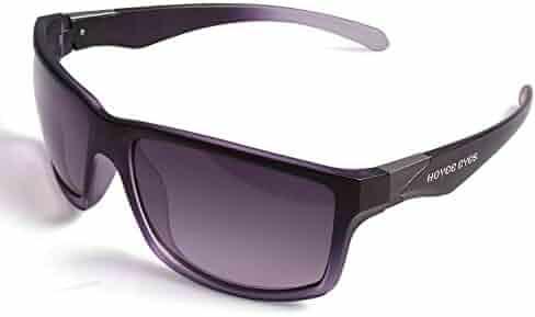 dce1825c4b1 Hoyee Eyes Unisex Polarized Aluminum UV protection Sunglasses SG180004 Brown