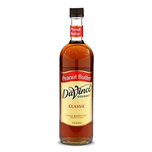 DaVinci Gourmet Classic Flavored Syrups Peanut Butter 750 mL by DaVinci Gourmet