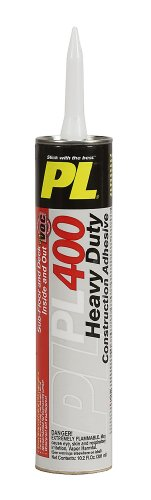 Henkel 828444 PL 400 Low VOC Subfloor and Deck Construction Adhesive, 10.2-Ounce