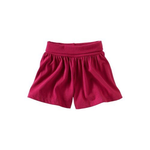 Tea Collection Baby-girls Infant Island Skort, Dahlia, 6-12 Months