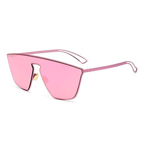 ZMYJX Sunglasses Oversized Goggle Women Sunglasses Luxury Pink Vintage Brillen Shades Men Sun Glasses (Driving Brillen)