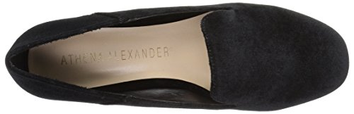 Athena Black Loafer Lyrik Velvet Alexander Women's Tuxedo rOxqRwra1