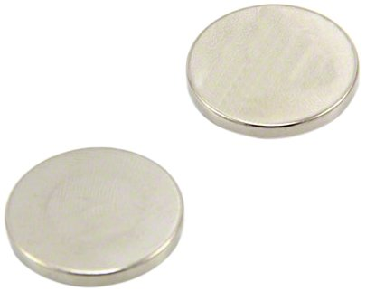 Magnet Expert® 25mm dia x 3mm thick N42 Neodymium Magnet - 5.5kg Pull ( Pack of 2 ) Magnet Expert® F253-2